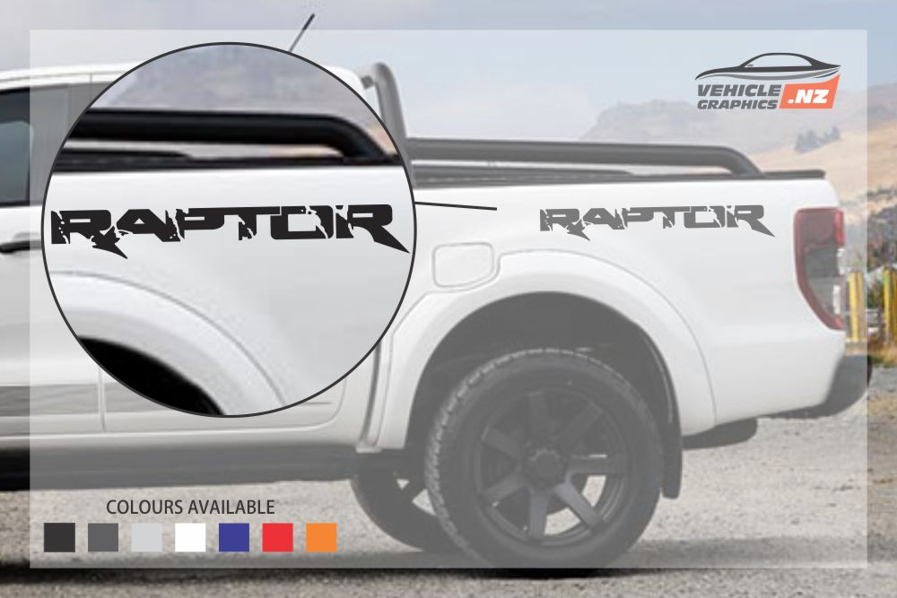 Ford Ranger Raptor Rear Side Decal