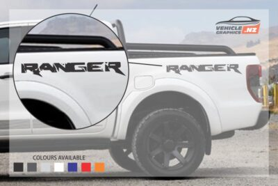 Ford Ranger Stylish Side Lettering Decal