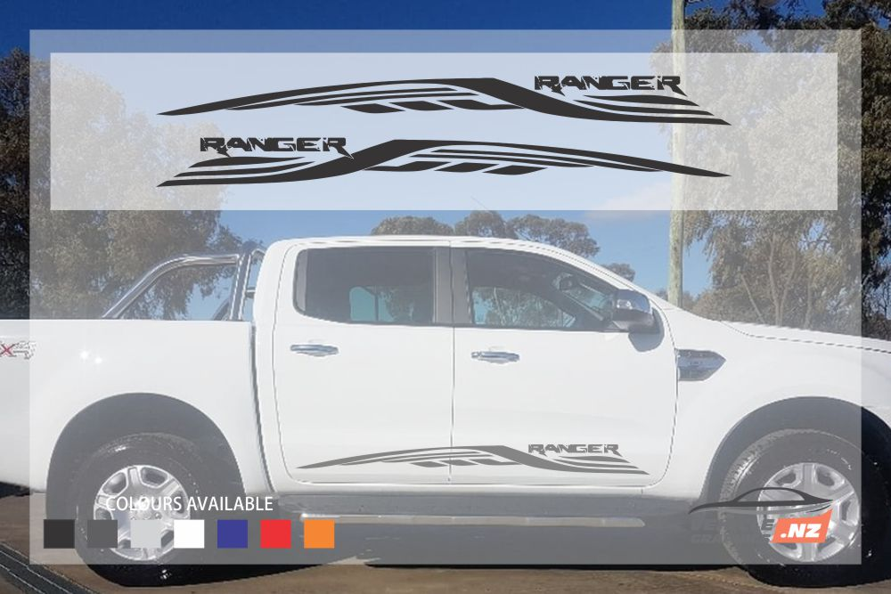 Ford Ranger Side Wings Decal