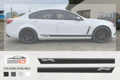 Holden Commodore Side Stripe Decals