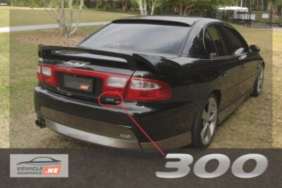 Holden Commodore VX II 300 Decal