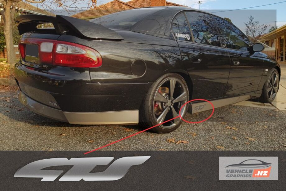 Holden Commodore VX II GTS Decal
