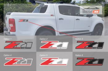 Holden Colorado Z71 Off Road Decal
