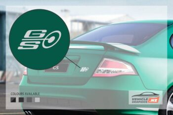 Ford Falcon FPV GS Bootlid Decal