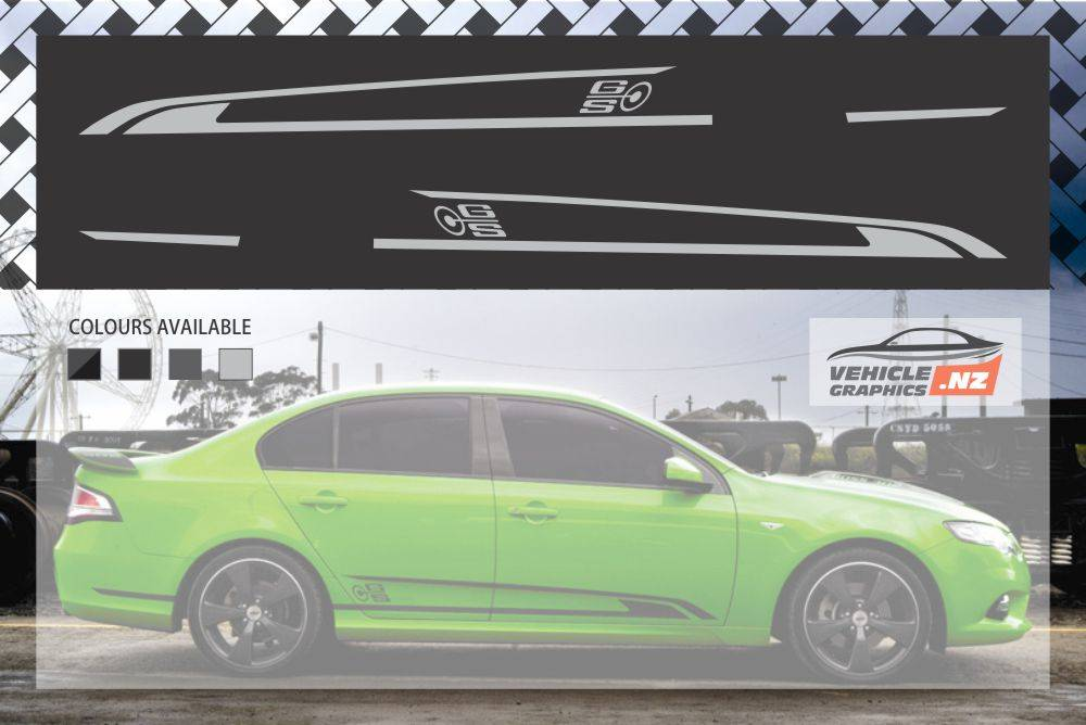 Ford Falcon FPV GS Side Stripes