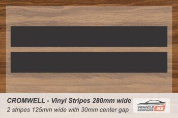 CROMWELL Vinyl Stripe Kit for Cars, Utes and Trucks