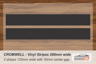 CROMWELL Vinyl Stripe Kit for Cars, Utes and Trucks