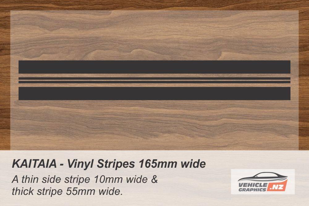 KAITAIA Vinyl Stripe Kit for Cars, Utes and Trucks