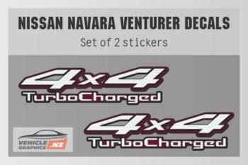 Venturer 4x4 Turbocharged Decal