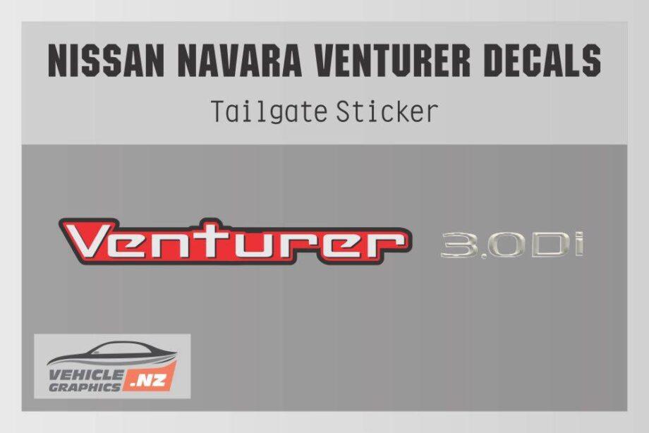 Navara Venturer 3.0Di Decal