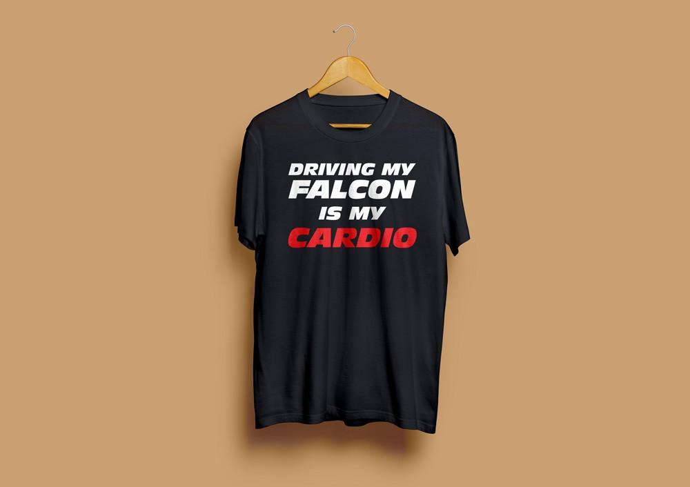 Driving Falcon T-Shirt