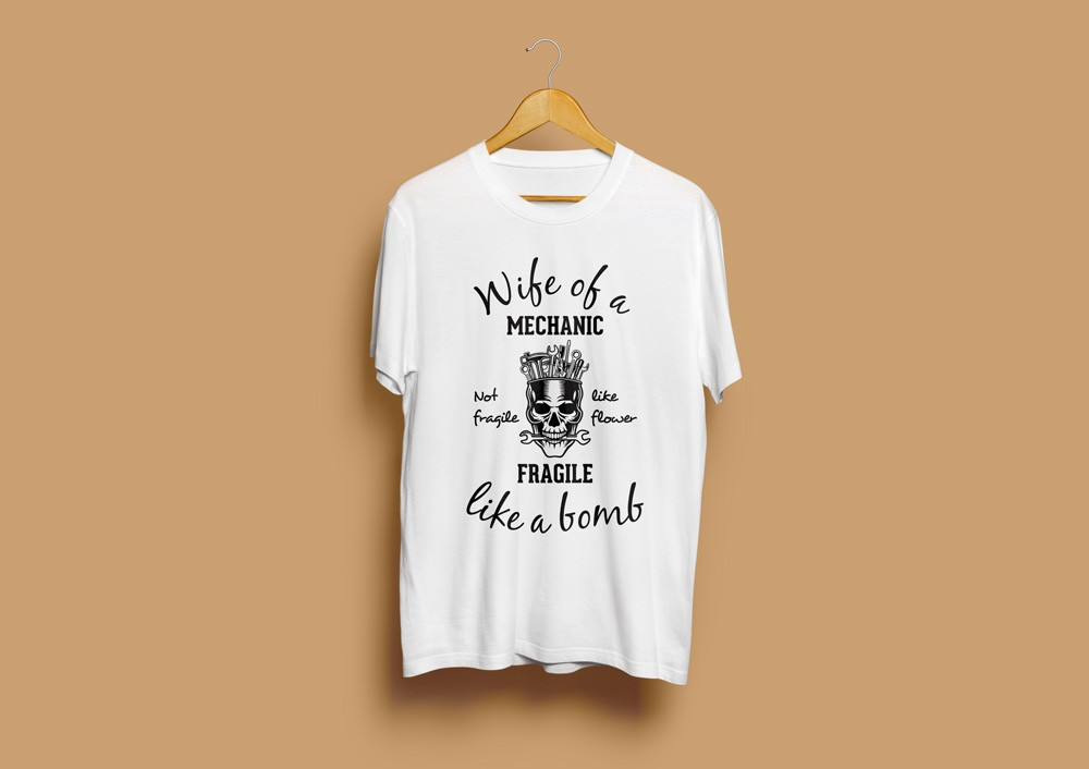 Wife Of A Mechanic T-Shirt
