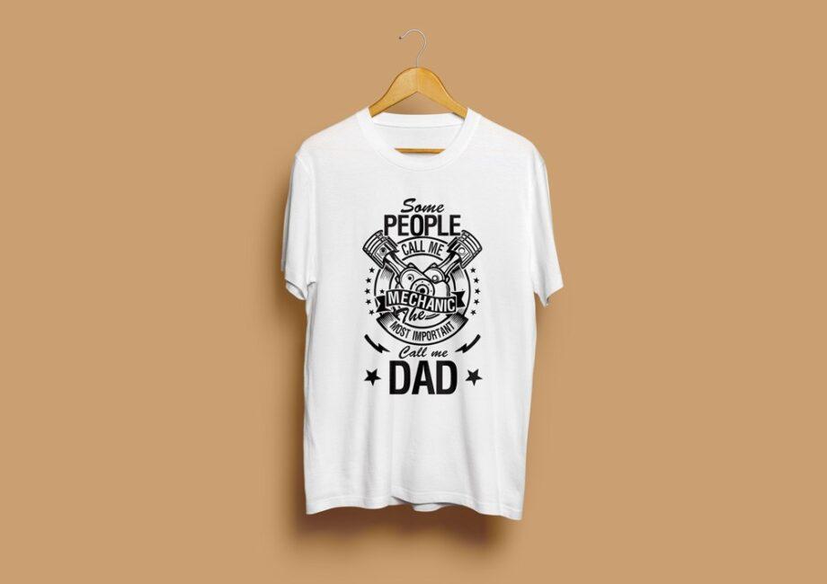 Mechanic Dad T-Shirt