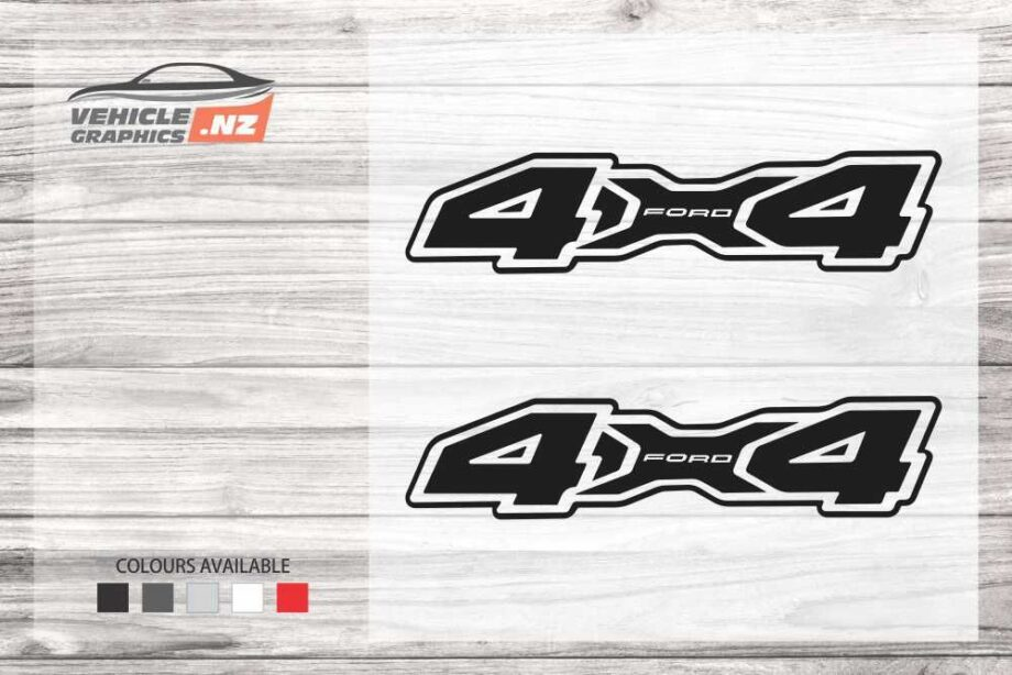 4x4 Ford Decal 35045