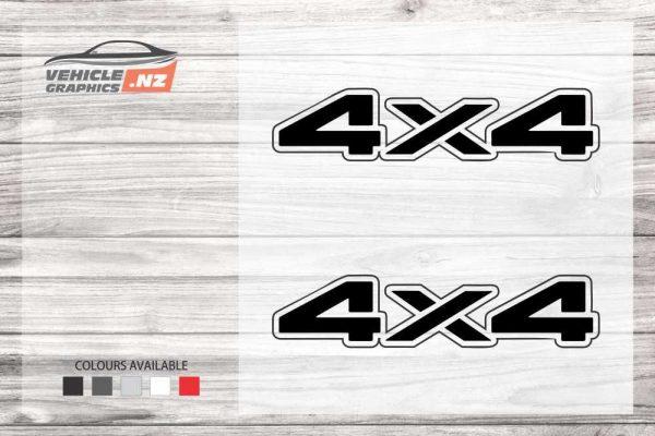 4x4 Generic Vehicle Decals 35047