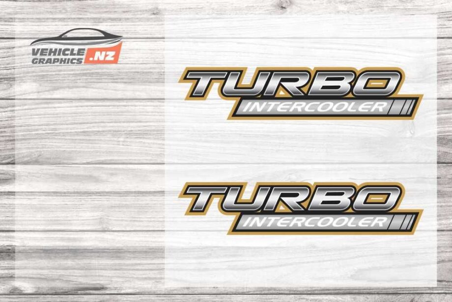 Turbo Intercooler Decal