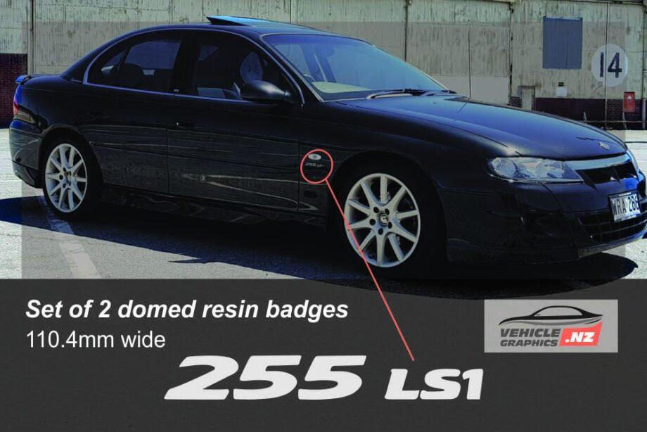 Holden HSV 255 LS1 Front Indicator Badge