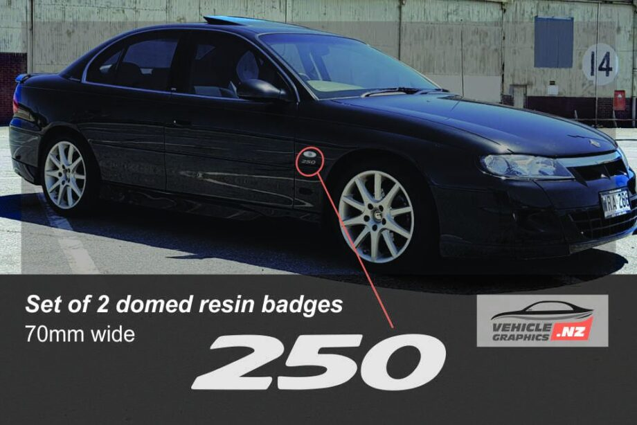 HSV 250 Front Indicator Badge