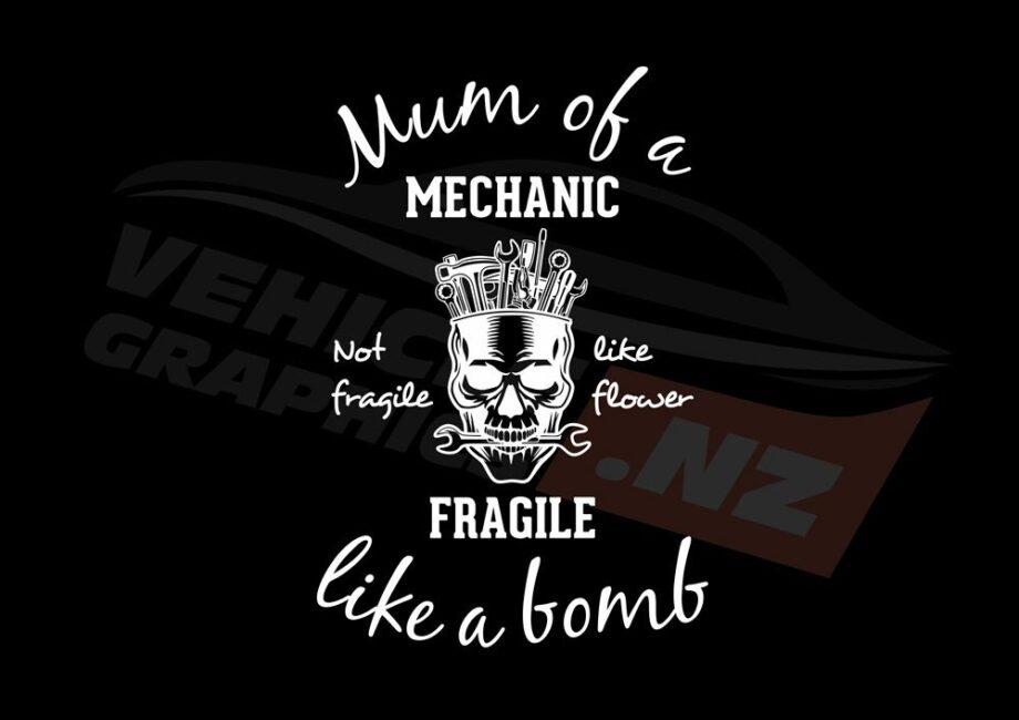 Mum Of A Mechanic T-Shirt