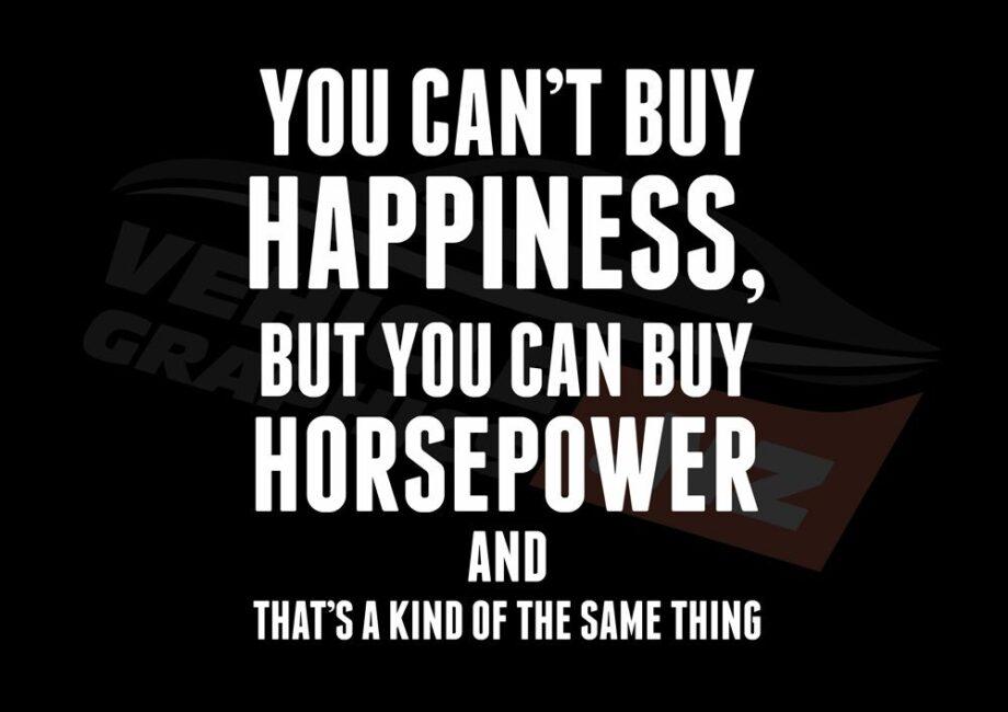 Buy Horsepower T-Shirt
