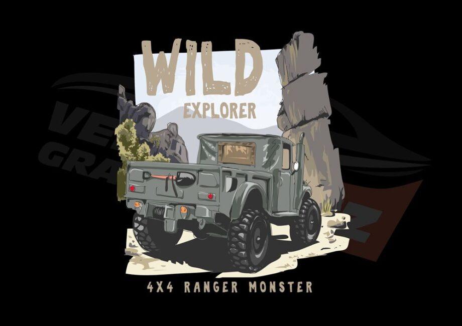 Wild Explorer Ranger T-Shirt