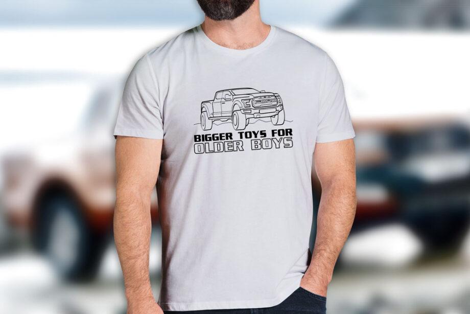 Bigger Toys For Older Boys T-Shirt