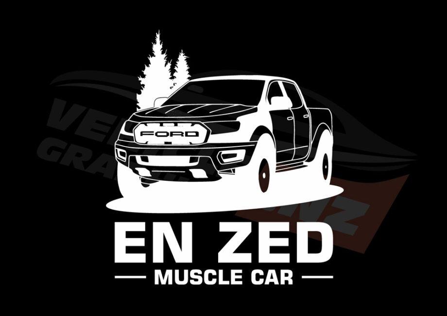 EN ZED Muscle Car T-Shirt