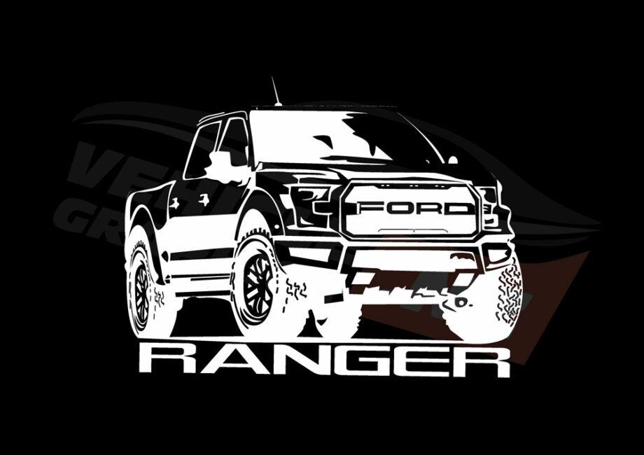 RANGER Car T-Shirt