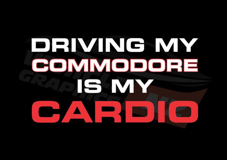 Driving Commodore Cardio T-Shirt