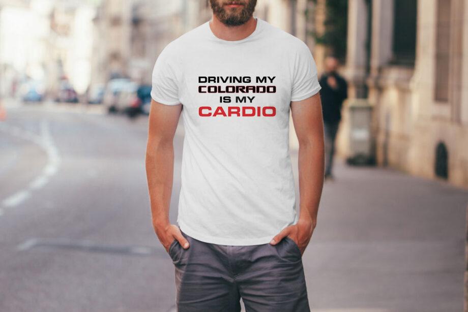 Driving Colorado Cardio T-Shirt