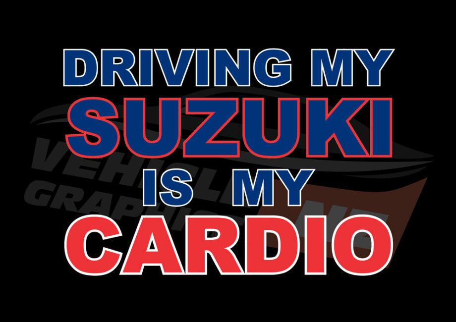 Driving Suzuki Cardio T-Shirt