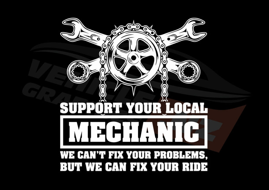 Support Your Local Mechanic T-Shirt
