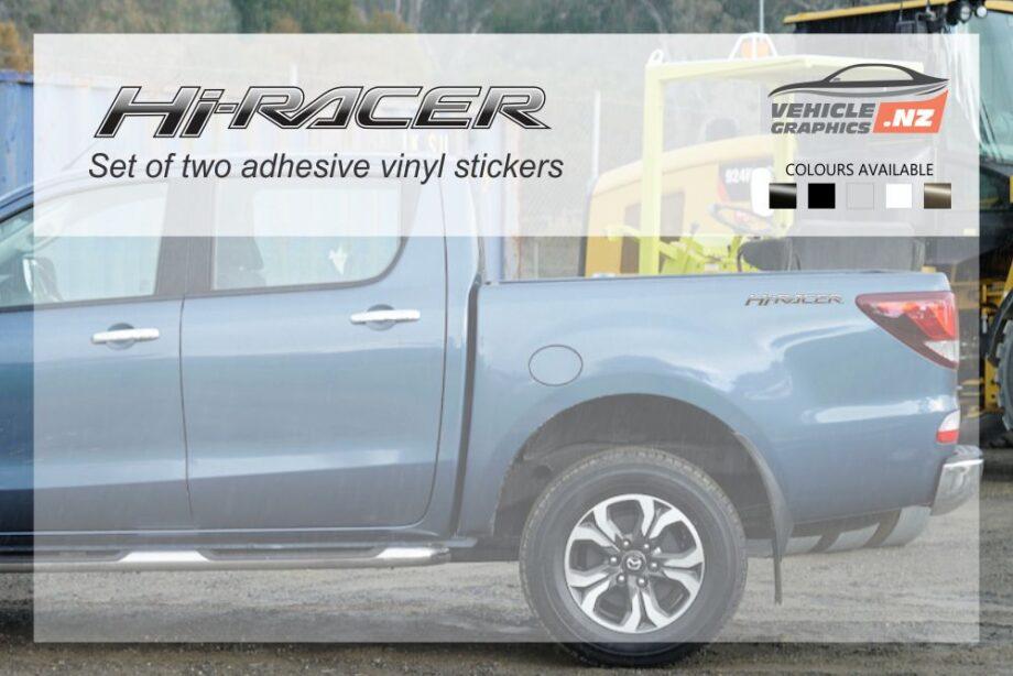 Mazda Hi-Racer Side Bed Decals