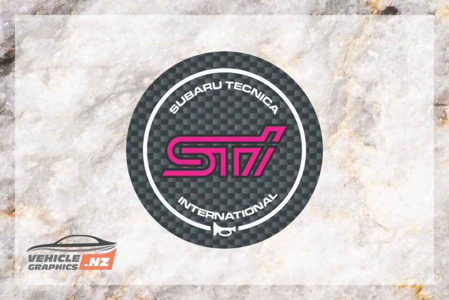 Subaru Impreza STI Steering Wheel Emblem Badge