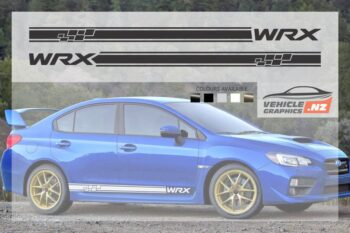 Subaru WRX Side Stripes Graphic Kit