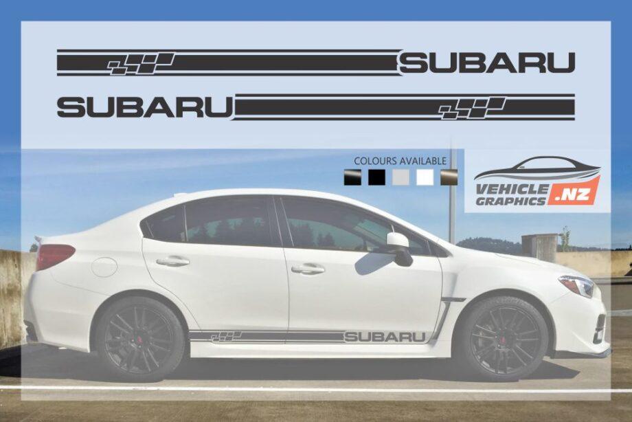 Subaru New Gen Side Stripes Decals