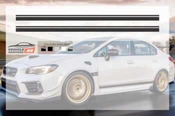 Subaru Blank Side Stripes Graphic Kit