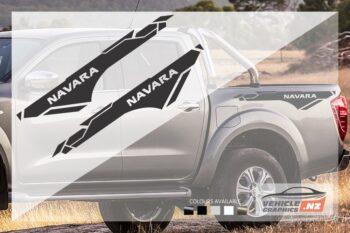Nissan Navara Side Bed Graphic Kit