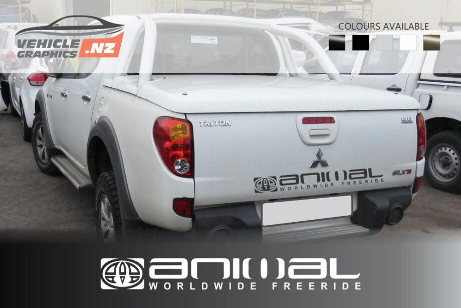 Mitsubishi Animal Freeride Tailgate Decals