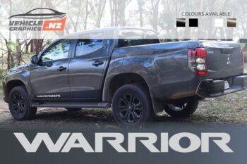 Mitsubishi Warrior Side Door Decals