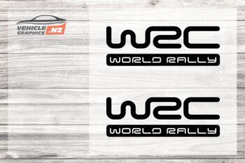 WRC World Rally Decal